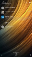Lockscreen's notification preview is gray text - Lenovo Phab2 Pro review