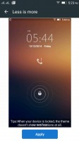 Familiar lockscreen can be customized with themes - Lenovo Vibe K4 Note review