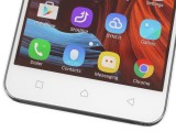 Capacitive keys in the bottom bezel - Lenovo Vibe K5 review