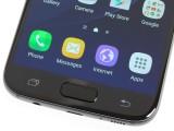 The fingerprint readers: on the Galaxy S7 - LG G5 vs. Samsung Galaxy S7