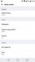 The homescreens - LG G5 review