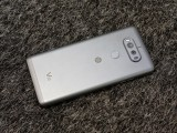 B&O logo on the back - LG V20 Hands-on