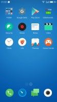 Homescreen (Chinese ROM) - Meizu m3 note review