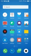 Homescreen - Meizu MX6 review