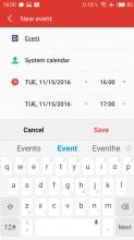 Calendar - Meizu MX6 review