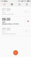 Clock - Meizu MX6 review