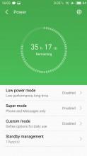 Security app - Meizu MX6 review
