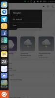 Left swipe menu and app minimizing - Meizu Pro 5 Ubuntu Edition review