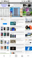 The web browser - Meizu Pro 6 review