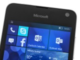 Clean front side - Microsoft Lumia 650 review