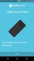 Intro screen for Power Pack - Moto Z Droid Edition Review