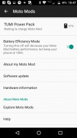Efficiency mode explained - Moto Z Droid Edition Review