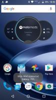 JBL SoundBoost Speaker when docked - Moto Z Droid Edition Review