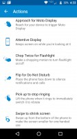 Moto app: Actions - Moto Z Droid Edition Review