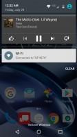Album art: notification - Moto Z Droid Edition Review