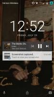 Album art: lockscreen - Moto Z Droid Edition Review
