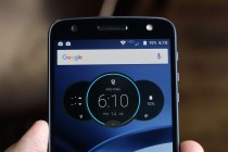 Forehead - Moto Z Droid Edition review