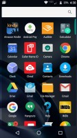 Vertically-scrolling app drawer - Moto Z Force Droid Edition Review