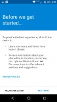 Setting up Moto Voice - Moto Z Force Droid Edition Review