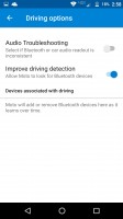 Driving options are found in the Moto Voice menu - Moto Z Force Droid Edition Review