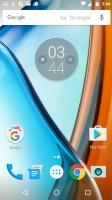 Google Now launcher - Moto G4 review