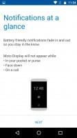 Moto screen options - Motorola Moto Z Play review
