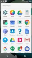 The app drawer - Motorola Moto Z Play review
