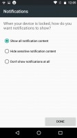Fingerprint reader settings - Motorola Moto Z Play review