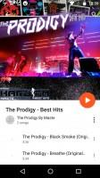 Google Play Music is built around music streaming - Motorola Moto Z Play review