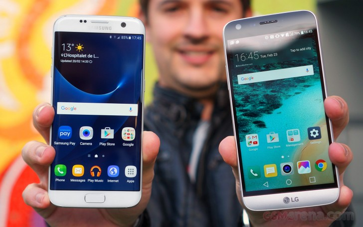 LG G5 vs. Samsung Galaxy S7 edge