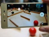 The 23MP camera has Predictive Hybrid AF - MWC 2016 Sony review
