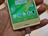 Stereo speakers on the Xperia X - MWC 2016 Sony review