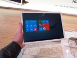 The beautiful screen and sleek metal body of the tablet - Huawei Mate Book