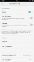 Fingerprint reader - Oppo F1s review
