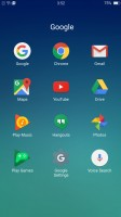 Default launcher with no app locker - Oppo F1s review