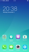 The homescreen houses all installed apps - Oppo R9s review