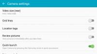 Camera interface - Samsung Galaxy A5 (2016) review