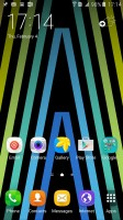 TouchWiz homescreen - Samsung Galaxy A7 (2016) review