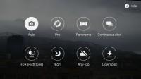 Samsung camera UI - Samsung Galaxy A7 (2016) review