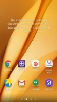 Launching split-screen mode - Samsung Galaxy A9 (2016) review