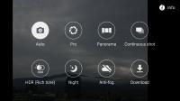 Samsung camera UI - Samsung Galaxy A9 (2016) review