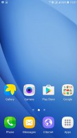 Homescreen - Samsung Galaxy C5 review