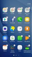 App drawer settings - Samsung Galaxy C5 review