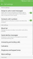 Call settings - Samsung Galaxy C5 review