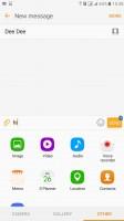 Messaging app - Samsung Galaxy C5 review