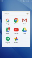 Google app suite - Samsung Galaxy C5 review