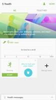 S Health - Samsung Galaxy C5 review