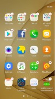 App drawer settings - Samsung Galaxy C7 review