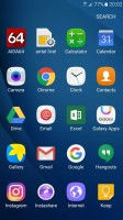 Android 6.0.1 on the Galaxy J2 (2016) uses a new UI - Samsung Galaxy J2 2016 preview
