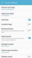 Camera UI and camera settings - Samsung Galaxy J2 2016 preview